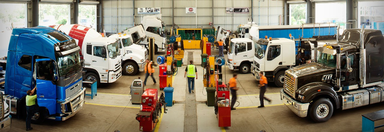 Servicing your Mack, Volvo and UD trucks